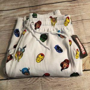NWT [Marvel] Super Hero Printed Sweatpants
